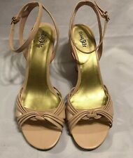 ae14b77ea6 East 5th Women's Pink Ankle Strap Wedge heels shoes Size 8