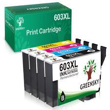 4 Druckerpatronen Set für Epson 603 XL XP4100-4105 XP3100-3105 WF2835-2830 DWF