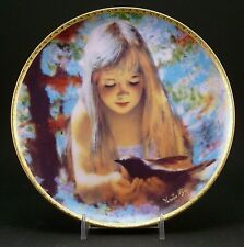 """Thornton Utz 10th Anniversary Collection """"Dawn"""" Collector Plate ~ 1988 ~ #1104A"""