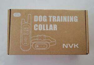 NVK TC-20A Waterproof Dog Training Shock Collar - Black
