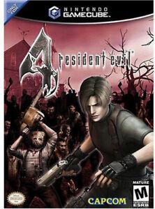 Resident Evil 4 Nintendo Gamecube Complete