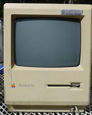 New ListingVintage Apple Macintosh Plus Desktop Computer - M0001A parts only