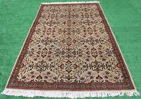 Turkish Rug 62''x93'' Kayseri Vintage Anatolian Primitive Carpet 5'2''x7'7''