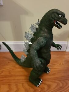 """Vintage 1985 Toho Imperial 13"""" Godzilla Posable Arms Legs Tail Action Figure"""