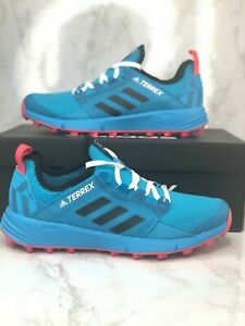 Adidas Terrex Speed LD Womens Sz 6 Sneaker Running Gym Trail Shoe Teal