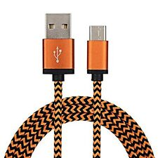 Orange USB C 3.1 Sync Charging Cable For Lenovo Z2 Plus Lenovo ZUK Z1 ZUK2