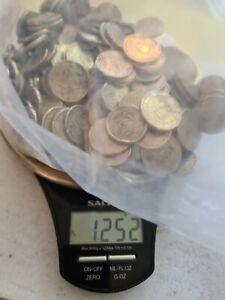 EURO coins 50c 20c 10c damaged condition FREE P&P (UK) 1.25kg minimum €50