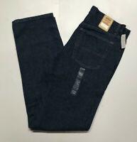 URBAN PIPELINE Jeans Regular Fit Blue Straight Leg 100% Cotton Rinse Dark Wash