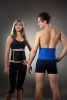 LOREY - Hochwertige Rückenbandage aus Neopren, Rückenstütze, Lumbalbandage