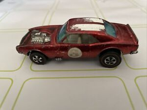 HOT WHEELS VINTAGE REDLINE 1969 HEAVY CHEVY, RED, HONG KONG, ALL ORIGINAL