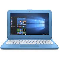 """HP Stream 11.6"""" Laptop w/ Celeron N4000, 4GB, 32GB, Windows - Blue #S11AH110NR"""