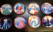 Danbury Mint Barbie Plate Collection High Fashion Barbie 8 Plates Total
