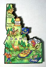 Idaho The Gem State Artwood Jumbo Fridge Magnet