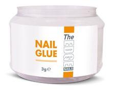 The Edge NAIL TIP ADHESIVE GLUE x50 TUB 3g Glues super strong false **UK SELLER*
