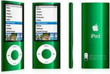 Apple iPod Nano 5th Gen with Camera 8GB Green A1320 With genuine Apple Charger