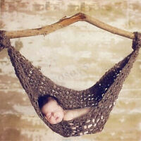 Newborn Baby Hammock Photography Props Infant Costume Photo Background Decor ~
