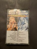 Cassette Tape 20 Outlaw Reunion Hits Willie Nelson & Waylon Jennings