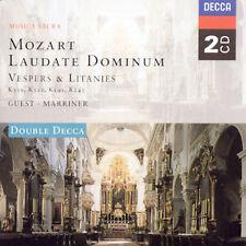 MOZART: LAUDATE DOMINUM - VESPERS & LITANIES NEW CD