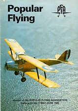 Popular Flying 1985 May-June Moth,ARV