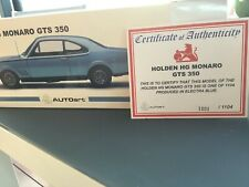 Holden HG Monaro GTS 1:18 Limited edition in Electra blue