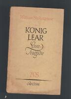William Shakespeare - König Lear - 1955