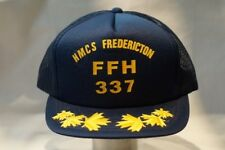 Canadian Navy RCN HMCS Fredericton FFH 337 Baseball Hat