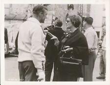 BETTE DAVIS ALEC GUINNESS CANDID France Location Set Vintage Ealing / MGM Photo