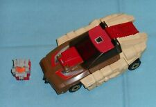original G1 Transformers CHROMEDOME BODY with HEADMASTER STYLOR only