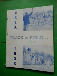 1958 UCLA Track Field Athletics Media RAFER JOHNSON Ducky Drake California USC