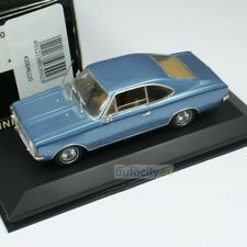 MINICHAMPS OPEL REKORD C COUPE BLUE METALLIC 430046120