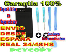 PANTALLA LCD COMPLETA + TACTIL IPHONE 4 4G + HERRAMIENTAS CRISTAL NEGRO TOUCH