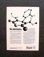 [GCG] M973 - Advertising Pubblicità - 1979 - BAYER RICERCA FARMACEUTICA