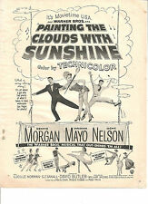 Virginia Mayo, Dennis Morgan, Painting the Clouds With Sunshine, Vintage Ad