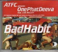 (CL59) One Phat Deeva ft Lisa Millett, Bad Habit - 2000 CD