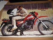 Cagiva Ala Blu _( brochure-prospekt -depliant ) anni '80