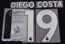 Chelsea DIEGO COSTA PREMIER LEAGUE CALCIO Camicia Set nome 2017/18 ID Sportive