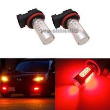 2x H11 H8 H9 7.5W Power  Red LED Bulbs For Car Driving Fog Light Lamps FIT Honda