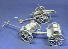 Resicast 1/35 Ordnance QF 18-pounder Field Gun WWI with Limber and Wagon 351237