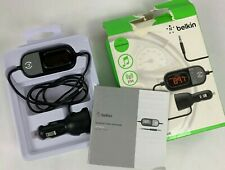 Belkin TuneCast Auto Universal Plus FM Transmitter FREE SHIP