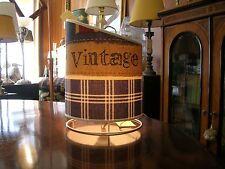 lampada da tavolo tessuto vintage