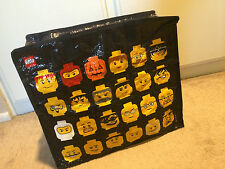 Lego Action Figures Head Nylon Zipped Storage Bag Pouch Limited Edition 851864