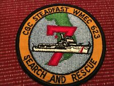 Us Coast Guard Wmec 623 Steadfast Search and Rescue Patch Old American Made Uscg