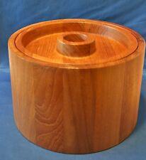 Dansk Denmark Teak Wood Ice Bucket