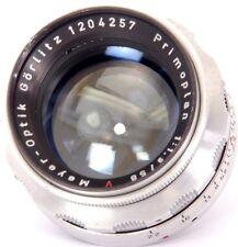 Meyer-Optik Görlitz Primoplan 1:1.9/58mm V primer lente EXAKTA o Digital Slr Ajuste
