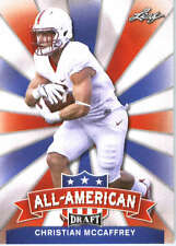 2017 Leaf Draft Football All-American #AA-04 Christian McCaffrey