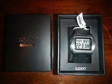 Zippo Digital Sport Watch Black Rubber Band 45017 *NEW*