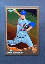 2013 Topps Chrome Zack Wheeler #180 Rookie RC Mets Phillies