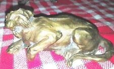 félin Tigre? Lionne Statuette en bronze presse-papier?