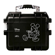 New Invicta DC3DIS Disney Mickey 3 Watch Slot Black Collector Watch Dive Case