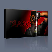 BLADE VAMPIRE CANVAS ART PRINT AWESOME WESLEY SNIPES ICONIC PICTURE Art Williams
